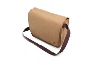 Washed kraft shoulderbag